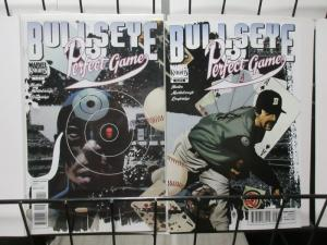 Bullseye: Perfect Game (Marvel 2011) #1-2 complete Return of the Pitcher