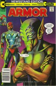 Armor #13 (Newsstand) VG; Continuity | low grade comic - save on shipping - deta