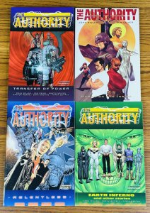 LOT 4 THE AUTHORITY TPBs RELENTLESS EARTH INFERNO TRANSFER OF POWER HUMAN INSIDE