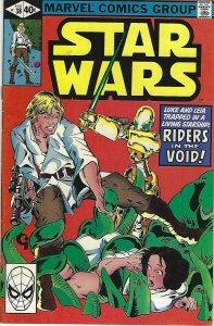 comics comic book star wars #38