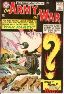 OUR ARMY AT WAR 151 VG  Feb. 1965 ENEMY ACE COMICS BOOK