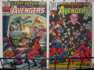 AVENGERS KREE SKRULL WAR (1983) 1-2 Neal Adams classic