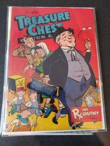 Treasure Chest Of Fun & Fact Vol. # 4 # 17 April 1949 VG+