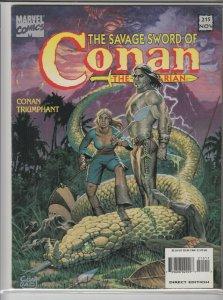 SAVAGE SWORD OF CONAN #215 VF+ A05000