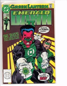 DC Comics Green Lantern EMERALD DAWN II  #3 Keith Giffen (story); Gerard Jones