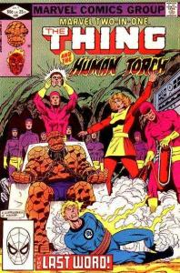 Marvel Two-In-One (1974 series) #89, VF- (Stock photo)