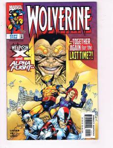 Wolverine #142 VF Marvel Comics Comic Book Larsen X Men 1999 DE24
