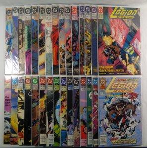 Legion of Super-Heroes Lot of 30 DC Comics