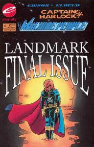Captain Harlock: The Machine People #4 VF/NM; Eternity | save on shipping - deta