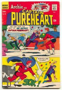 Archie As Captain Pureheart #5 1967- DR DETEST vg