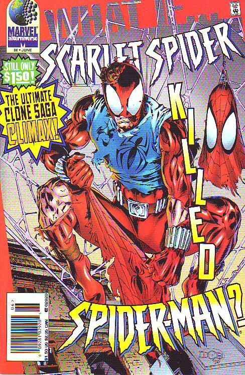What If #86 (Jun-96) NM Super-High-Grade Spider-Man, Scarlet Spider
