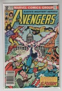 AVENGERS (1963 MARVEL) #212 VF+ A97670