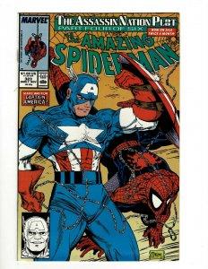 Lot Of 5 Amazing Spider-Man Marvel Comic Books # 323 324 325 326 327 NM OF2