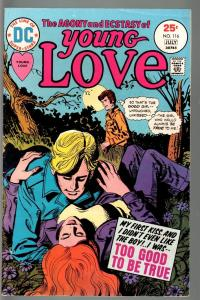 Young Love #116-TOO GOOD TO BE TRUE-FN/VF-DC Romance FN/VF