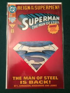 Superman The Man of Steel #22 Reign of the Supermen!