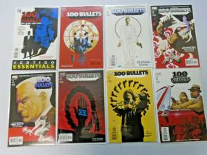 100 Bullets lot #1 reprint to #100 - 43 different books - average 8.0 - 1999