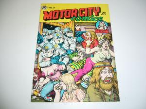 Motor City Comics #2 FN (3rd) print - robert crumb - rip off press underground