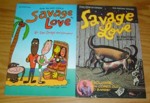 Savage Love #1-2 VF/NM complete series - dan savage - rare gay comics LGBTV
