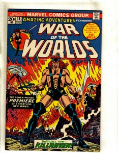 Amazing Adventures # 18 VF Marvel Comic Book Feat. War Of The Worlds Killrav RS2
