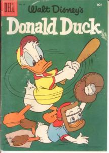 DONALD DUCK 49 FINE Sept.-Oct. 1956 COMICS BOOK