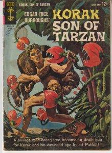 Korak Son of Tarzan(Gold Key) # 5   Man Eating Plants !