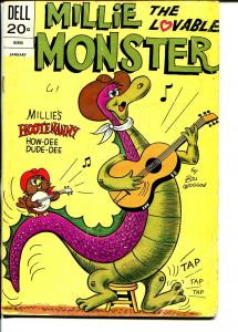 Millie The Lovable Monster #6 1973-Dell-wacky humor-Bill Woggon-VG