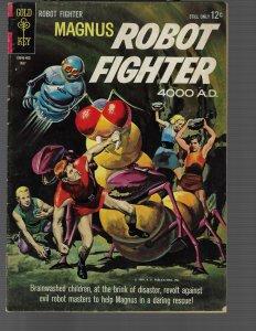 Magnus Robot Fighter #6 (Dell, 1965) F+