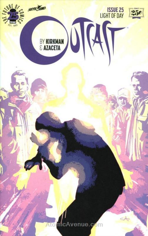 Outcast (Image) #25 VF/NM; Image | save on shipping - details inside