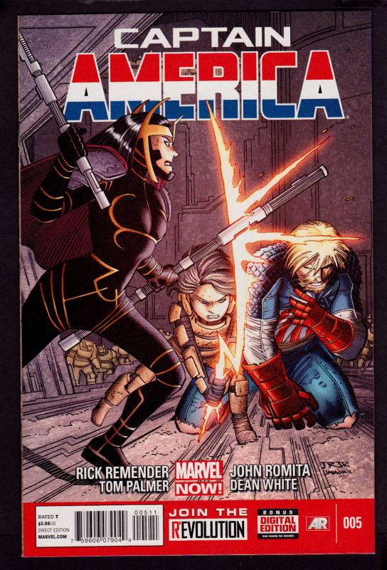 Captain America #5 (2013 Series)   9.4 NM