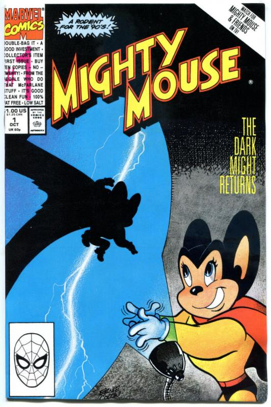 MIGHTY MOUSE #1 2 3 4 5 6 7 8 9 10, NM, Funny, Pearl, 1990, Kids, 1-10,10 issues