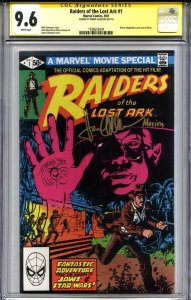 RAIDERS OF THE LOST ARK #1 CGC 9.6 SS KAREN ALLEN (add Harrison Ford optional)