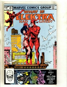 What If # 35 NM 1st Print Marvel Comic Book Elektra Daredevil Avengers HJ9