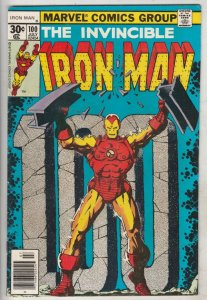 Iron Man #100 (Jul-77) VF+ High-Grade Iron Man