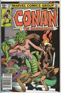 Conan the Barbarian #134 (May-82) VF/NM High-Grade Conan the Barbarian