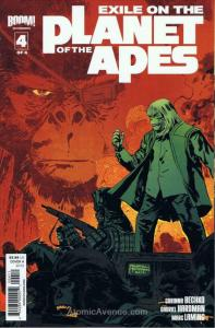 Exile on the Planet of the Apes #4A VF/NM; Boom! | save on shipping - details in