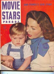 Movie Stars Parade-Jeanne Crain-Cesar Romero-Shirley Temple-May-1949