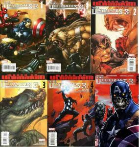 ULTIMATES 3 (2008) 1A-5B  The complete series+ COMICS BOOK