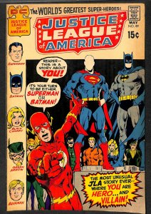 Justice League Of America #89 VG/FN 5.0 DC Comics