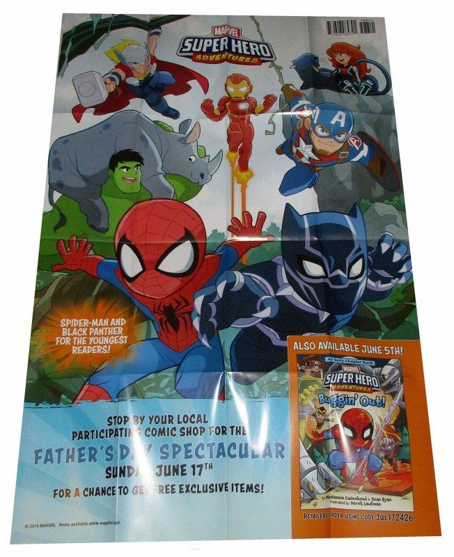 Marvel Superhero Adventures  Folded Promo Poster (36 x 24) - New!