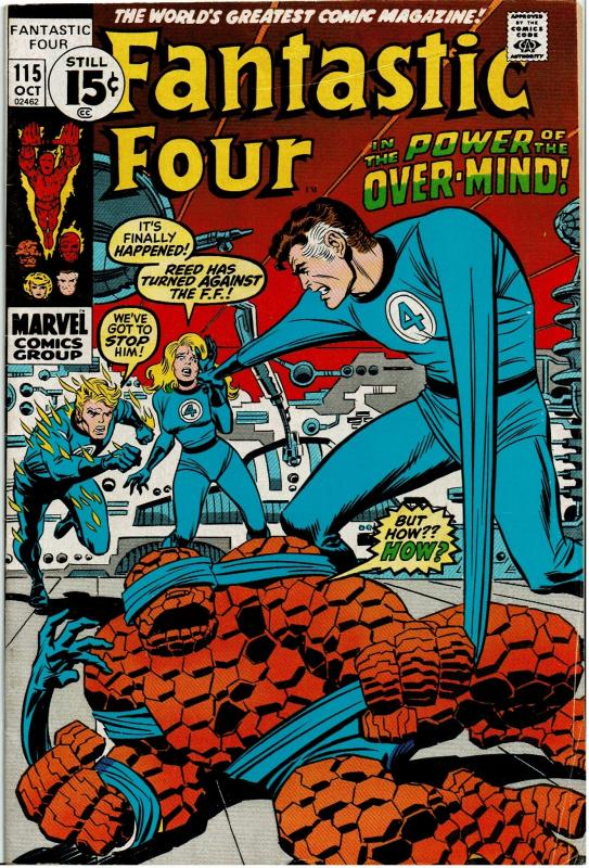 Fantastic Four #115, 5.0 or better