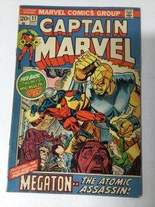Captain Marvel 22 Fn Fine 6.0 Marvel