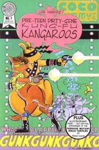 PRETEEN DIRTY GENE KUNG FU KANGAROOS 1-3 TMNT