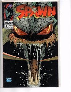 Image Comics Spawn #4 Todd McFarlane Story & Art No Coupon