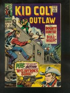 KID COLT OUTLAW #137 1967-NICE COPY FN