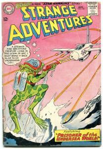 Strange Adventures #155 1963- Frog monster cover- Undersea World G/VG