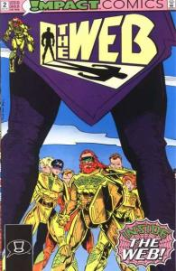 Web (1991 series) #2, NM- (Stock photo)