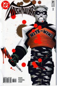 Nightwing(vol. 1) #31 1st Nite Wing