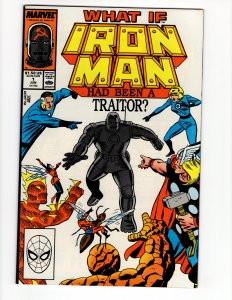 What If Special #1 Iron Man Had Been A Traitor? ID#47Q
