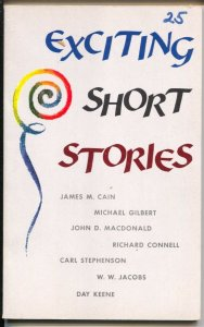Exciting Short Stories 1960-hardboiled pulp fiction-Day Keene-John D. MacDona...