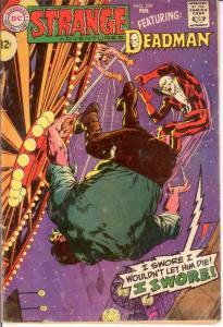 STRANGE ADVENTURES 209 GOOD Feb. 1968  ADAMS DEADMAN COMICS BOOK